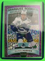 2019-20 OPC Platinum Marquee Rookies Violet Pixels #190 Quinn Hughes 182/399 RC