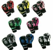 ProForce Combat Boxing Training Gloves Kickboxing Cardio Workout Gear - Pair
