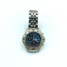 Festina Chronograph 1/100-Sec Triple Subdials Modele Depose 6503 WR 100M