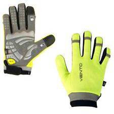 Cycle gloves Hi Viz touch screen gel e gloves full finger yellow S