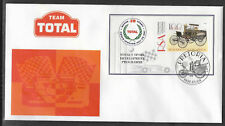 SOUTH AFRICA 1997 TOTAL OIL MOTOR SPORT GOLF CRICKET FOOTBALL Souv Sheet FDC