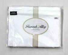 Peacock Alley One Trianon Stonewashed Cotton Quilted Standard Pillow Sham White
