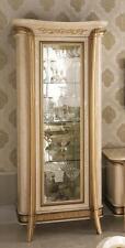 Display Case Wardrobe Glass Cabinet Designer Furniture Barock Rococo Art Nouveau