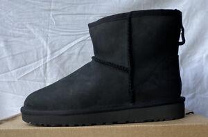 UGG W Classic Mini Leather 1016558 Black New