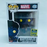Funko POP! #490 Marvel Nightcrawler 2020 Summer Convention Limited Edition BNIB