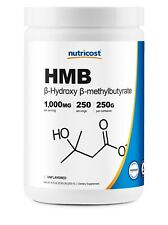 Nutricost HMB Powder (Beta-Hydroxy Beta-Methylbutyric) 250 Grams