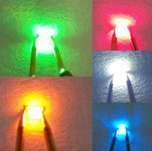 Led Smd Smt 5050 3528 1206 0805 RGB Blanc Vert Rouge Bleu Orange PLCC-2 PLCC-6