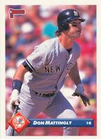 Don Mattingly 1993 Donruss   #609 New York Yankees Card