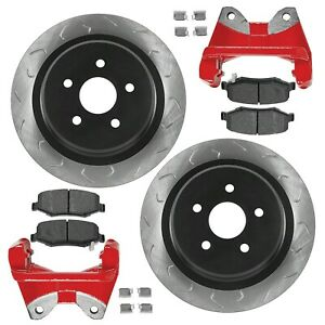 G2 Axle & Gear Core Big Brake Kit Rear 14.25-Inch for 07-18 Jeep JK 2-Dr / 4-Dr