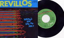 Revillos -Where's The Boy For Me? GERMANY PRESS EX+/EX+ Rezillos Eugene Reynolds