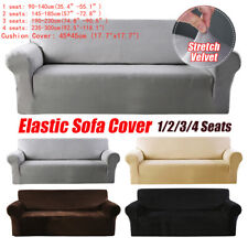 Elastic Sofa Cover Velvet Universal Chair Seat Protector Stretch Slipcover Couch