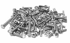 210 piece STAINLESS mixed HEX head bolts nuts washers