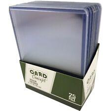 CARD CONCEPT REGULAR 3x4 TOP LOADERS HARD CARD SLEEVES (10-250) TOPLOADERS