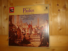 Mendelssohn Paulus FRÜHBECK DE BURGOS EMI ELECTROLA 3 LP BOX NM Like New Quadro