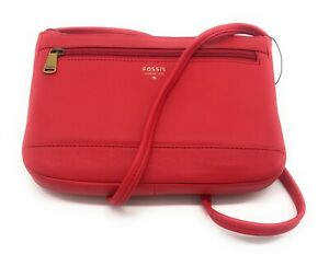 Fossil NEW Gift Mini Crossbody Real Red MSRP $98