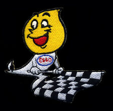 Esso patch Oil Drip Mr. Esso Racing Flags Hot Rod Motor Oil Gasoline