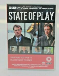 STATE OF PLAY The Complete Series 1 (2 Disc DVD) - David Morrissey (Region 4)
