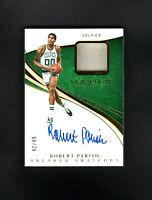 2019 Panini Immaculate ROBERT PARISH /49 Sneaker Swatches NM/MT (OR BETTER)