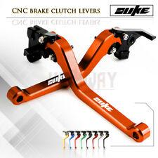 Motorbike CNC Alu Long Brake Clutch Adjustable Levers for KTM 690 Duke 2008-2011