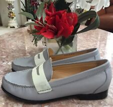 Cole Haan Reflective Monroe Gray Loafer Shoes Size 8 EUC! MSRP $198