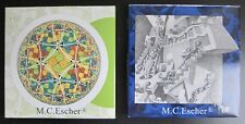 M.C. Escher # Two sets of NOTECARDS , 20 cards# 2003 , mint