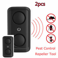 Electronic Ultrasonic Double Head Pest Insect Repeller Pest Control Rodent Tools