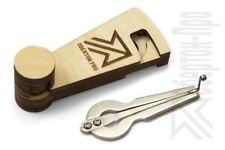 "Oberton Pro ""Tatysh"" Jaw Harp (Russian Vargan) with protective cedar case"