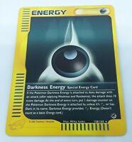 DARKNESS ENERGY 158//165 Expedition non-holo E-series Pokemon card NM Dark