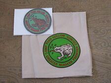 Camp Toad Hollow (NY) Neckerchief + Pocket Patch  BSA