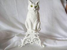 GARDEN DECOR CLASSIC WHITE  CAST YARD & GARDEN   CAT