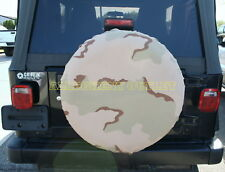 US Military 3 COLOR DESERT ALICE Field Pack Cover Tire Cover Jeep Truck SUV RV