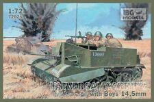 UNIVERSAL CARRIER I Mk.I W/AT RIFLE (BRITISH, CANADIAN, POLISH MKGS) 1/72 IBG