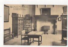 Museum Plantin Moretus Proeflezerskamer Belgium Vintage Postcard 186a