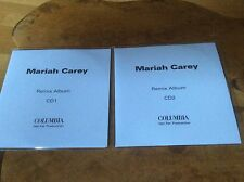 MARIAH CAREY - Remix Album - 2 X 21trk Cd-r Acetate Set...RARE.