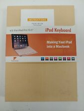 Favormates Ipad keyboard V3 For Ipad Pro 10.5 color black