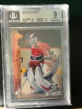 2007-08 UD Young Guns Carey Price rc BGS 9 MINT Canadiens