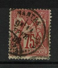 France SC# 83 - Used - Type II - Mantes CDS - Lot 081317