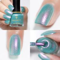 BORN PRETTY Nail Art Polish Chameleon Mermaid Glitter Blue Varnish BP-FS01 6ml