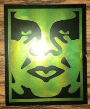 Shepard Fairey Print Sticker Obey Giant Star Poster Foil Limited Banksy Rare