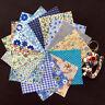 12pcs 25*25 cm Cotton Fabric Fat Quarter Bundle For Sewing Craft Patchwork DIY