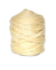 Yellowish  -  1 kg 100% Merino Wool Giant Chunky Yarn Arm Knitting
