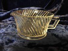 Vintage Federal Glass Diana Sugar Bowl
