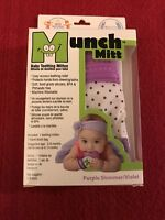 Munch Mitt Baby Teething Mitten - Purple