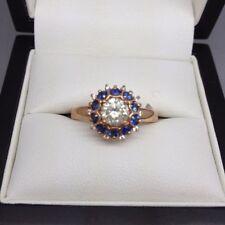 Diamond Rose Gold 10k Engagement Rings