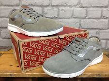 VANS MENS UK 7 EU 40.5 LXVI ISO 2 GREY SUEDE TRAINERS RRP £65