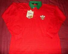 Maillot De Rugby Du Pays De Galles Taille XL Neuf Etiqueté