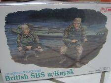 DML 1/35 Worlds Elite Forces British SBS w/Kayak  plastic model kit