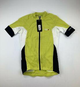 Louis Garneau Carbon Jersey Men's Medium Yellow New