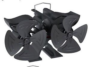 EcoFlow Mini 8 Blade Heat Powered Stove fan log burner Fan new 2020 model