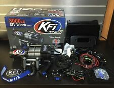 Polaris Rzr 1000 & General 14-16 KFI 3000 lb Winch + Mount COMBO W REMOTE+ROCKER